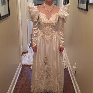 Alfred Angelo Wedding Dress Vintage 1990s 90s